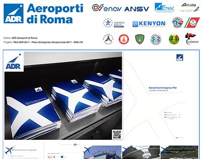 ADR Aeroporti di Roma PEA Piano Emergenza Aeroportuale