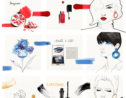 Minimalist Colour Mood Board