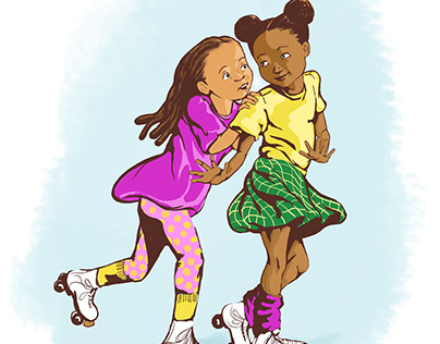 Skate Roll Bounce!A Character Study for the Skate Rink