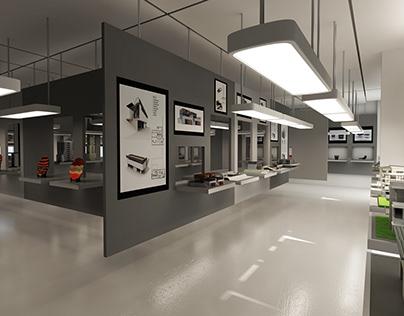 3d visualization- Showroom 2