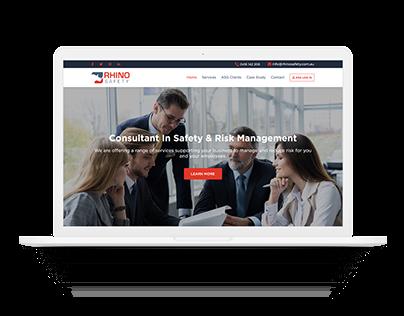 Construction Web Page Design