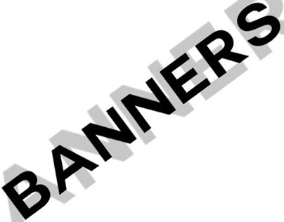 These are all my banners from my work :)