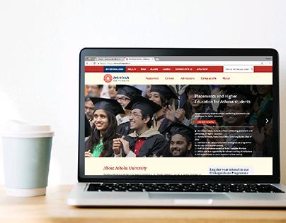 Ashoka University- CMS + UX Design