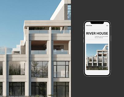RIVER HOUSE — Premium estate website