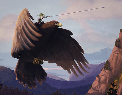 Great Eagle and Rider