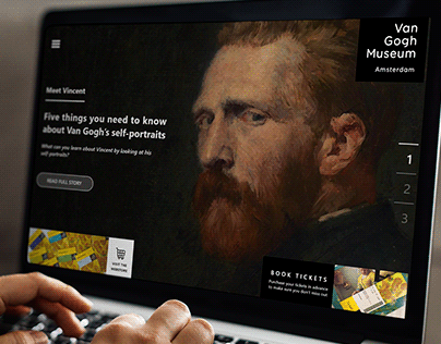 Redesign - Vincent Van Gogh Museum -Amsterdam