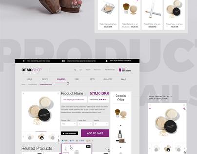 Ecommerce Fashion Store
