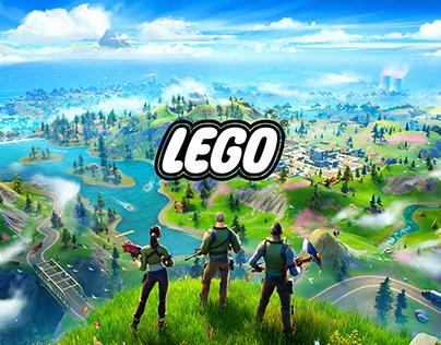 FORTNITE X LEGO - Mixing Worlds