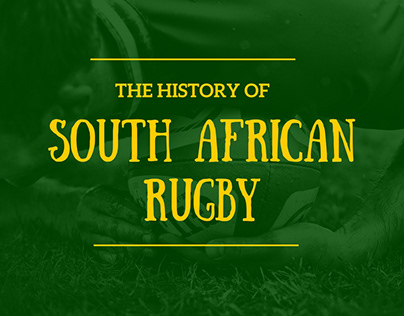 The History of South African Rugby