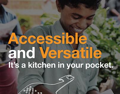 BRANDING - UNIKIT Kitchen tool (poster)