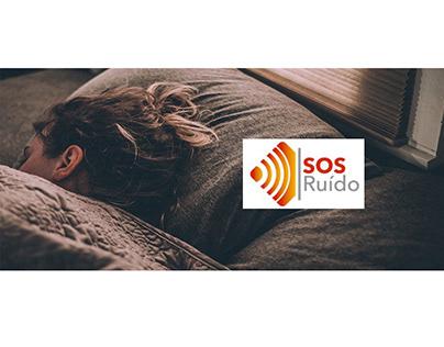 S.O.S. Ruído   Banners online e Landing page