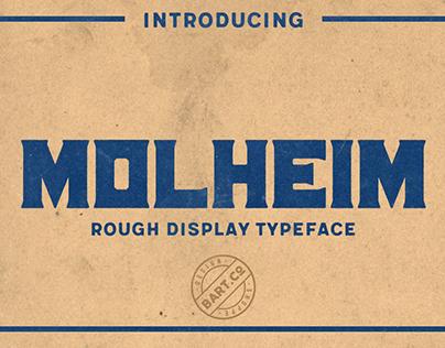 Molheim - vintage typeface