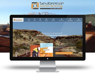 Seabreeze Contracting Website Design