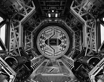 Sci-Fi_Corridor 3D-Visualization&Design