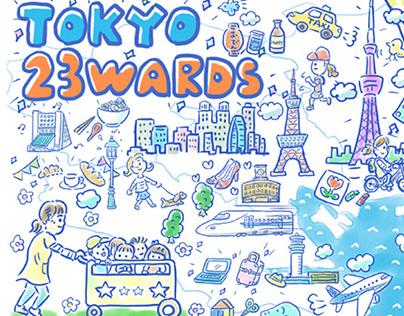 Work/Tokyo 23 words