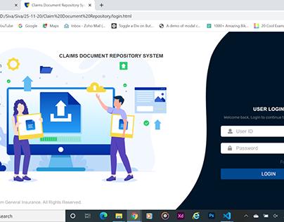 Claim Document Repository