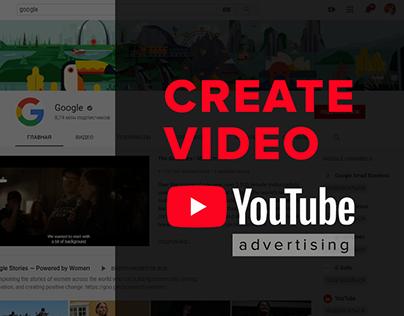 Video advertising YouTube