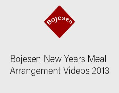 Bojesen New Years Meal Arrangement Videos 2013