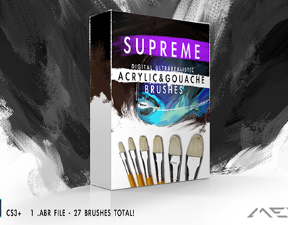 Supreme Acrylic & Gouache Brushes