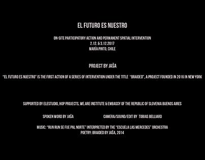 EL FUTURO ES NUESTRO art video with JASA