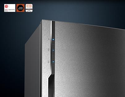 Neo Piezo Controlled Refrigerator
