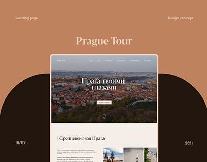 Prague Tour | Design concept