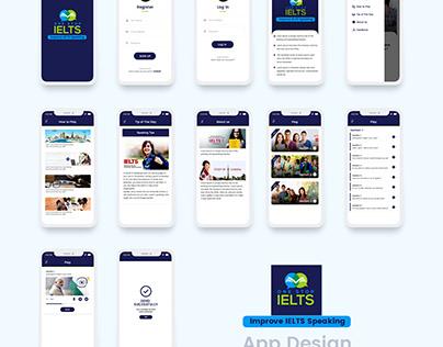 Improve IELTS speaking app design