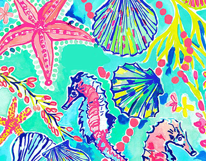 Lilly Pulitzer Print Project