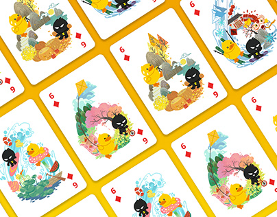 Poker cards design