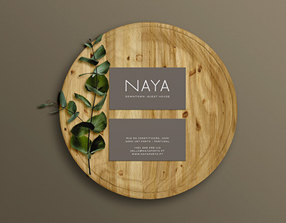Naya Guesthouse - Branding