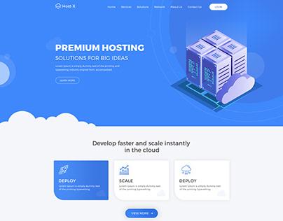 HostX - Web Hosting