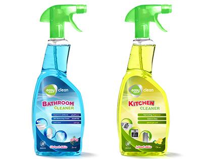 Bathroom & Kitchen cleaners