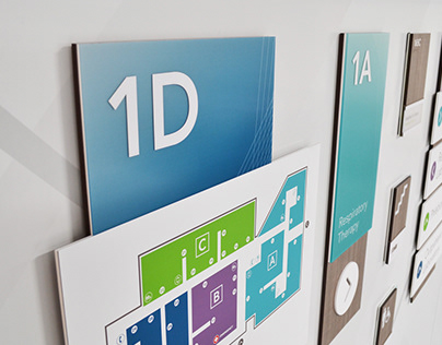 Signage & Wayfinding System (Healthcare Tradeshow)