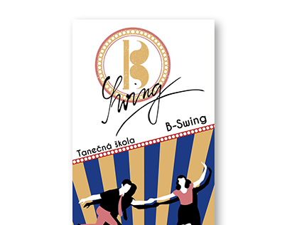 Banner for Swing Dance school