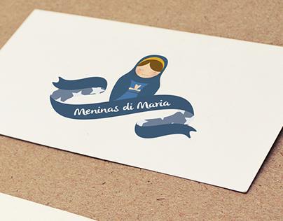 Marca, comunicação visual e blog | Meninas di Maria