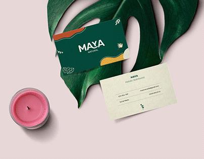 Maya | Nutritionist | Brand Identity
