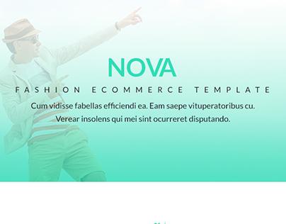 Nova - Fashion eCommerce PSD & HTML5 Template