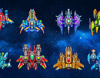 Galaxy Shooter Concept