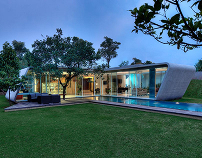R-House designed by Budi Pradono architects