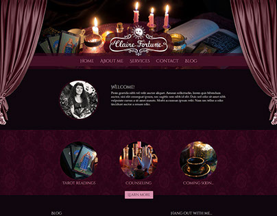 Claire Fortune Branding & Website Design
