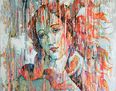 """VENUS"" Artwork inspired by S. Botticelli"