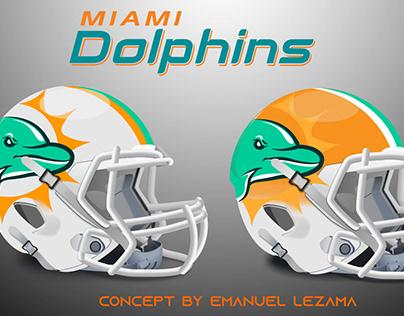 Miami Dolphins Helmet Concept