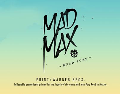 Gig Poster / Mad Max Warner Bros.