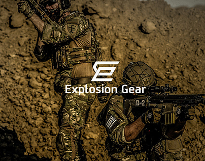 """( Logo Concept) Explosion Gear """"Special Force"""""""