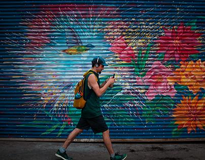 As Colorful As A Graffiti Wall