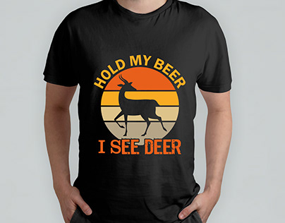 Hunting t shirt design