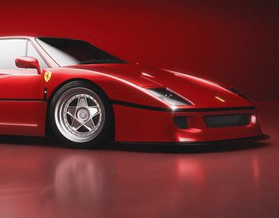 Ferrari F40 - Automotive CGI Challenge 2