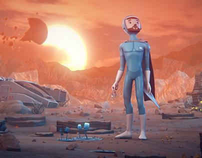 Mishkin The Cosmonaut Trailer