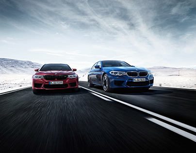 BMW M5 2017 Postproduction & CGI