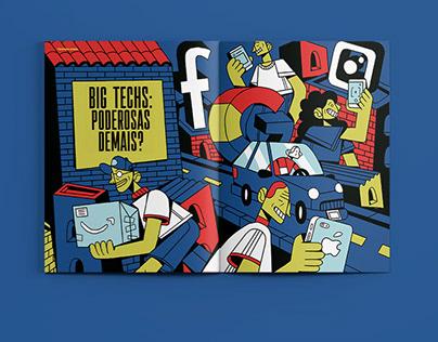 Editorial Revista Exame - Big Techs: Poderosas Demais?